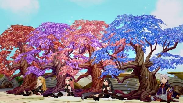 基本プレイ無料のドラマチックアクションRPG『セブンスダーク』 伝説の桜が手に入る「お花見イベント」を開催するぞ~!! 新作オンラインゲームランキングDX