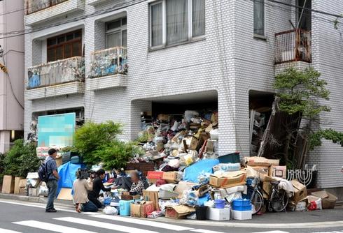 20170210 名古屋のゴミ屋敷