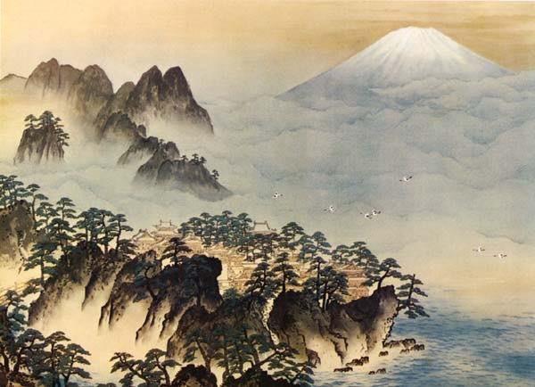 20170417 蓬莱山と富士山