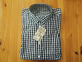 MUJI 無印良品 ギンガムチェックシャツ M 美品 ナチュラル