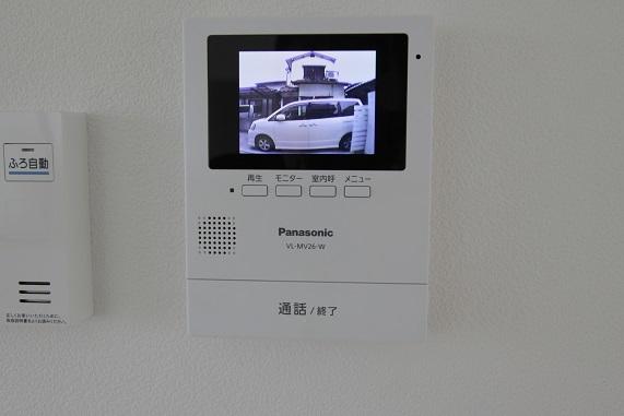 テレビモニター付インターホン