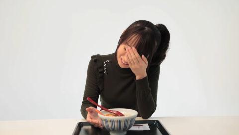 なか卯×水樹奈々 カニとじ丼試食ムービー