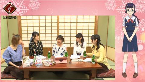 TVアニメ『つぐもも』先行上映会直後の生放送特番