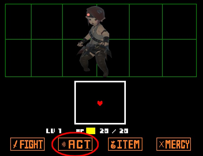 すずちゃん戦闘 ACT1