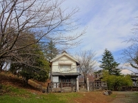 ロケセットと蔵座敷の間の桜 4月2日