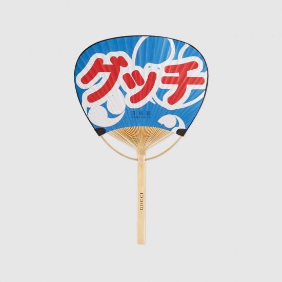 団扇 うちわ GUCCI ブランド カタカナ グッチ裕三