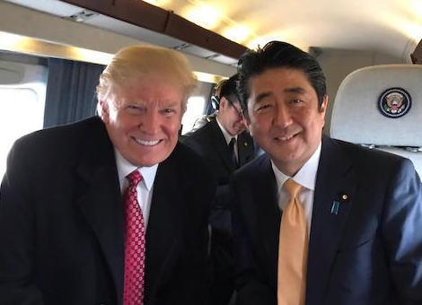 安倍首相 トランプ大統領 日米首脳会談 バラク・オバマ 中国 韓国