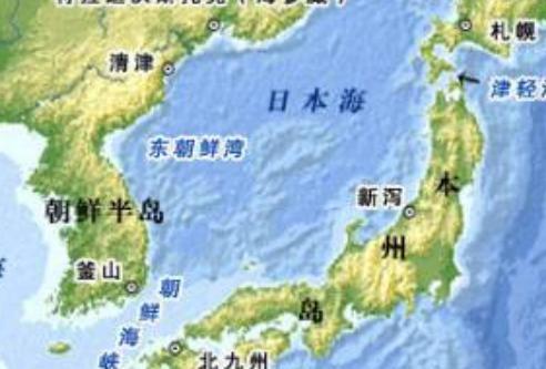 日本海 韓国 東海