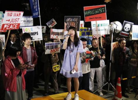 SEALDs 未来のための公共 パヨク ReDEMOS T-nsSOWL 偏差値28 負神 逆神 テロ等準備罪