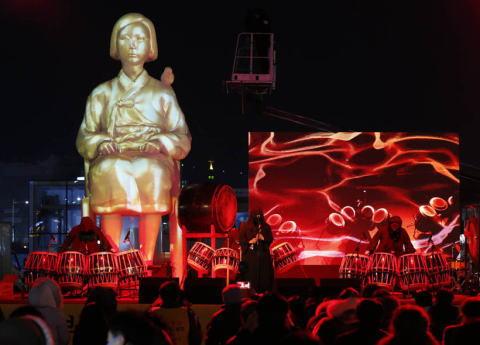 慰安婦像 徴用工像 捏造 最終的且つ不可逆的な解決 斜め上 韓国