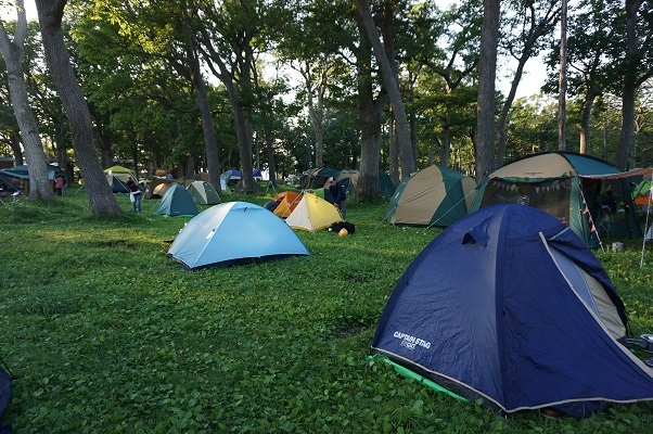 知床キャンプ場