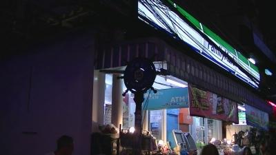 s-DSCF9689 ウォーキング ストリート (11) 美味しいカオマンガイ屋台のあった通り