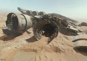 宇宙船廃墟のイメージ