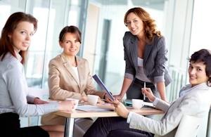 女性の職場のイメージ