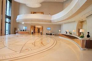 高級ホテルフロント