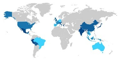 のどか世界地図