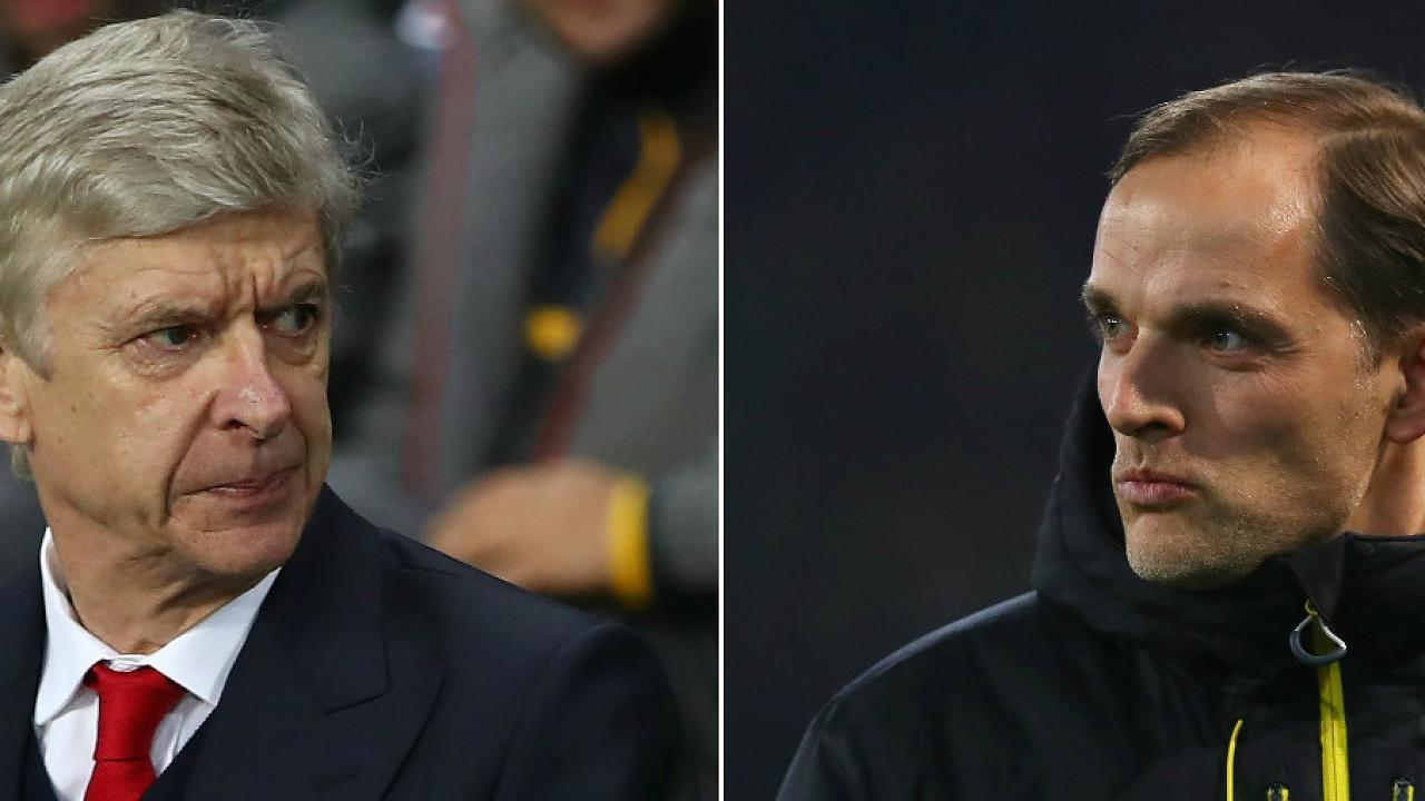 Thomas Tuchel leads a four-man short list to replace Wenger if he leaves