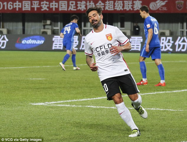 Lavezzi has played just 10 times, and scored no goals and provided three assists