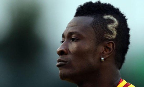 Unethical hair Asamoah Gyan the UAE Arabian Gulf League go viral