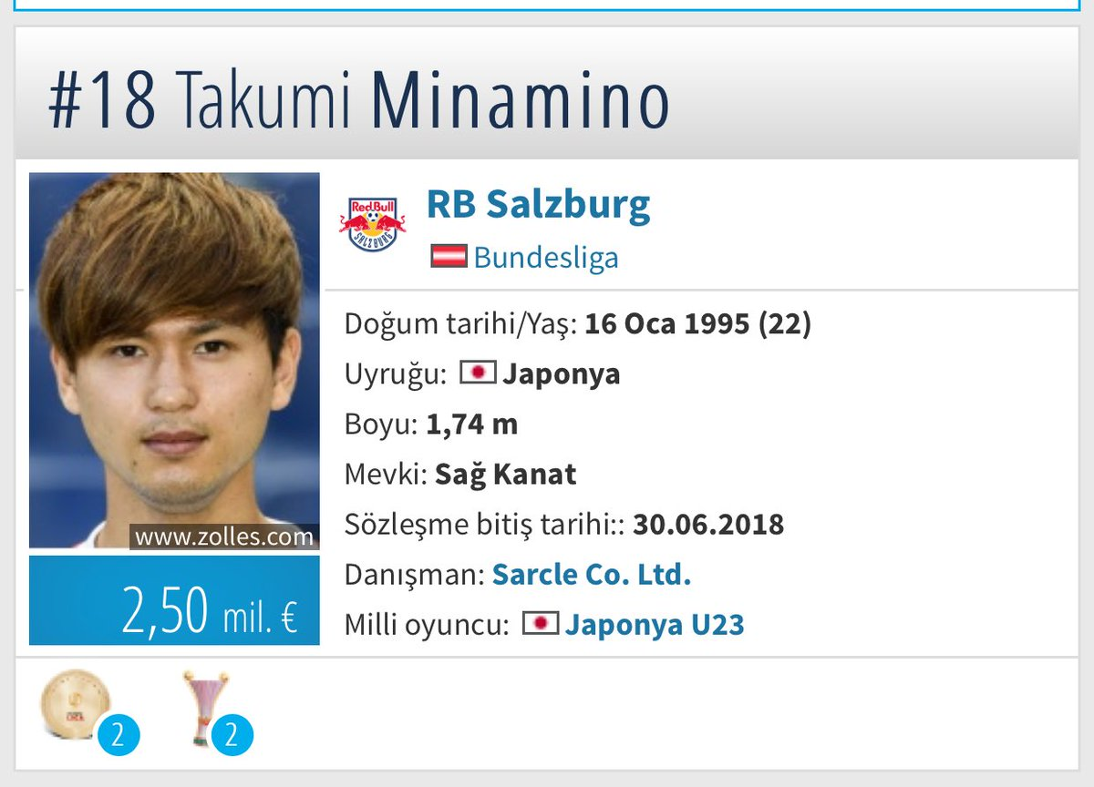 Takumi Minamino, müthiş bir futbolcu olacaktır