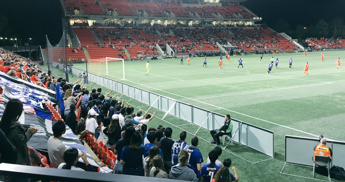 Kudos to the @GAMBA_OFFICIAL fans #ADLvGAM