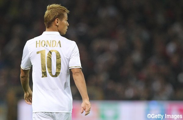 Honda will finish season with Milan before transfer