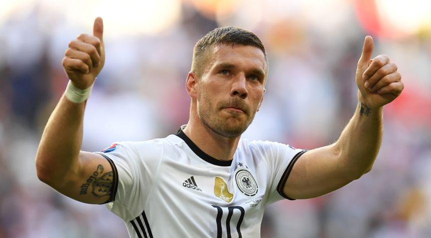 World Cup winner Podolski confirms move to Vissel Kobe