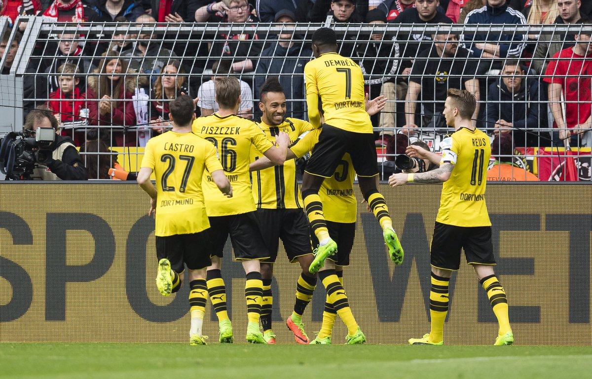 Verdienter BVB-Sieg im 8-Tore-Spektakel mit @bayer04fussball #bvbb04
