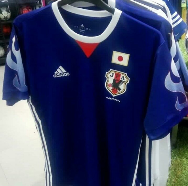 BREAKING Striking Japan 2017 Home Kit Leaked