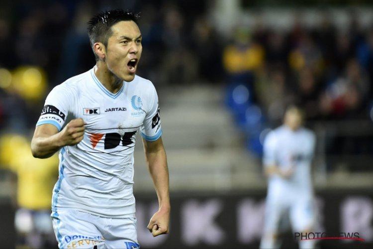 Yuya Kubo scoorde zijn belangrijkste goal voor Gent in Beveren
