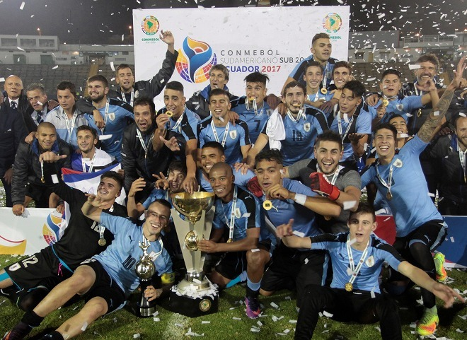 Uruguay were relatively comfortable winners of the recent South American U20 Championships