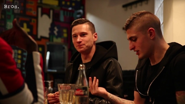Supper Club Episode 2, Marco Verratti Julian Draxler Thomas Meunier Blaise Matuidi