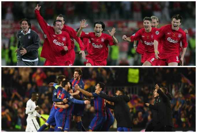 LFCs Istanbul comeback was better than Barca v PSG