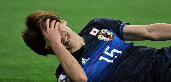 osako gets injured against uae
