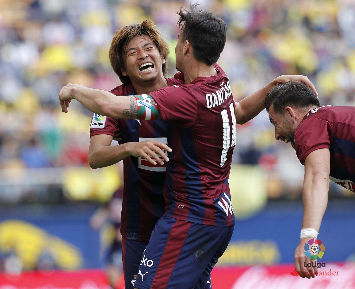 inui takashi goal against villarreal