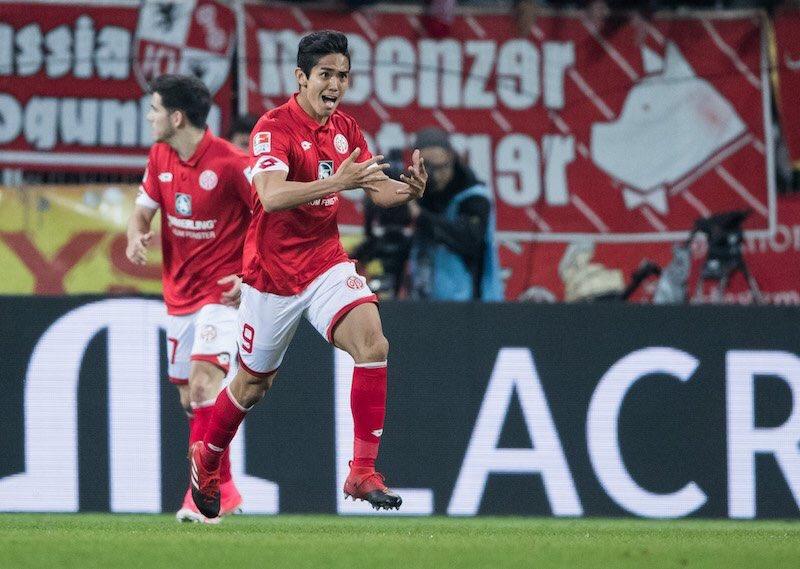 Mainz 2X3 RB Leipzig muto goal