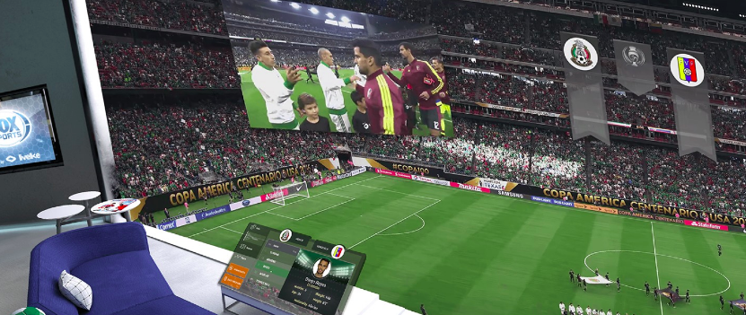 A look at LiveLikes VR soccer stream Fox Sports