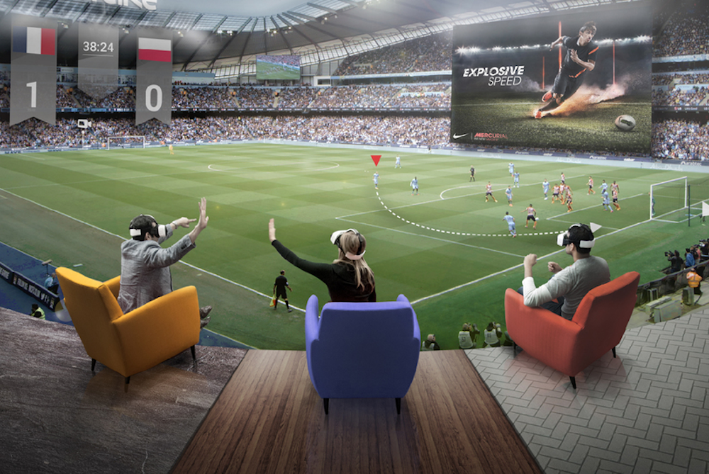 Fox Sports partnered with LiveLike, aired MLS Cup live in VR