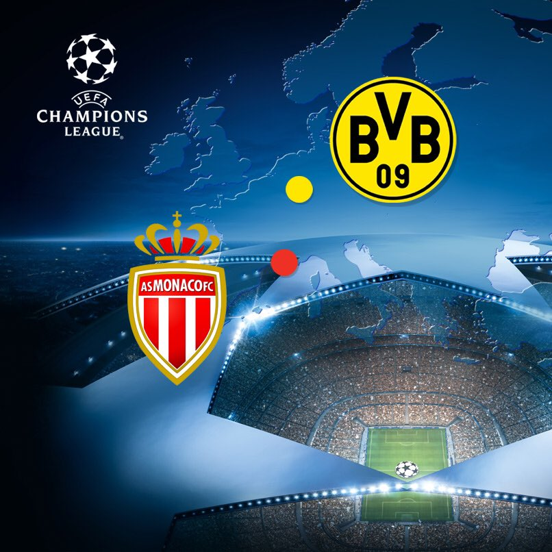 AS_Monaco_EN in town for last-eight @ChampionsLeague clash on Tuesday
