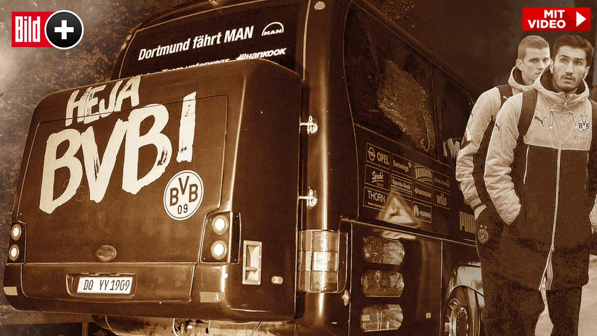 BILDplus Inhalt Gott sei dank! BVB-Bomben zündeten eine Sekunde zu spät