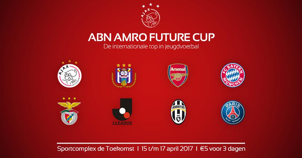 Het deelnemersveld van de ABN AMRO Future Cup 2017 is bekend