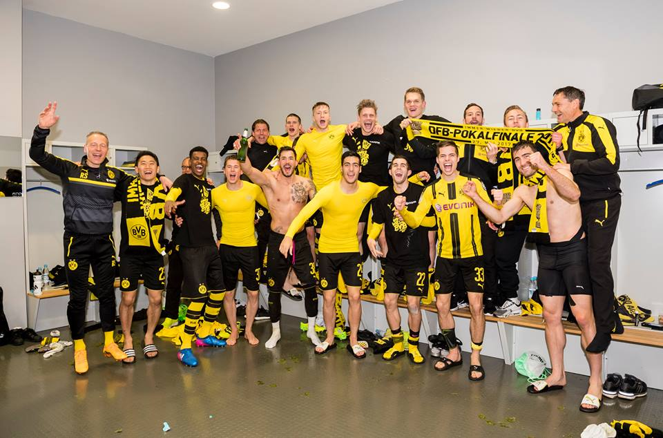 YEEES! Borussia Dortmund enter the DFB CUP FINAL!DFB-Pokal FCB 2_3 BVB