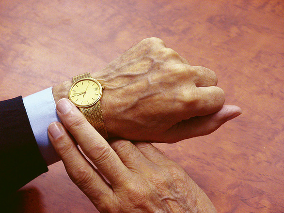 時計 残り時間 定年退職
