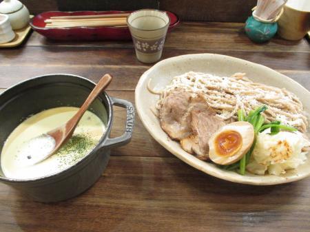 カルボナーラつけ麺