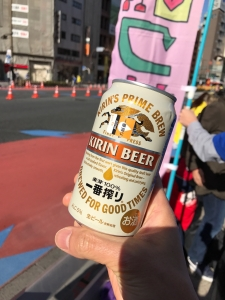 東京マラソン7km