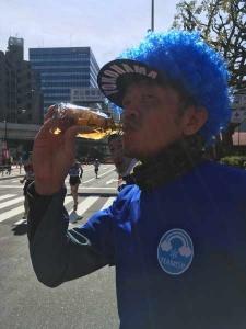 東京マラソン38km過ぎ