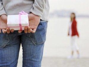 バレンタイン贈り物