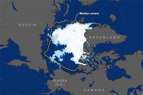 この週末の大雪は北極海のせいかもしれない
