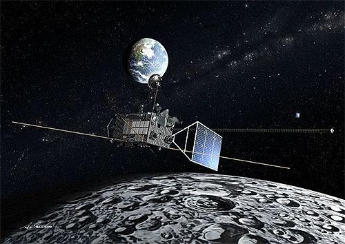 地球の酸素、月まで到達