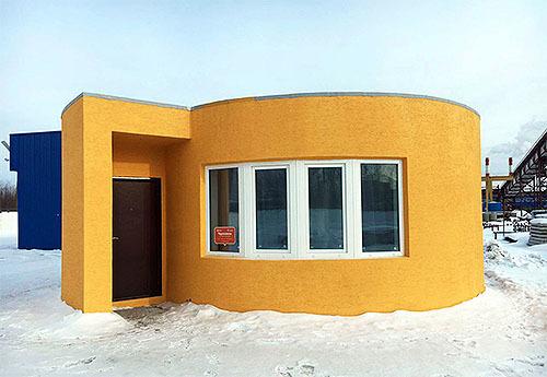 セメントを印刷して家を印刷する取り組みの続報